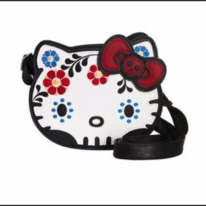 Hello Kitty Sugar skull Crossbody Purse
